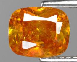 1.76 Cts Marvelous Natural Rare Top Rich Fired Sunset Orange Sphalerite