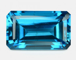 11.72 Carat London Blue Natural Topaz Gemstone