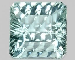 7.21 Cts Un Heated  Natural Aquamarine Loose Gemstone