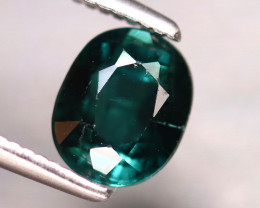 Tourmaline 1.12Ct Natural Turquoise Green Tourmaline EF1413/B19