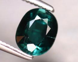 Tourmaline 1.12Ct Natural Turquoise Green Tourmaline EF1413/B19