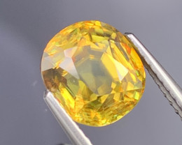 3.09 Cts AAA Quality Eye Catching Amazing Fire Natural Sphene