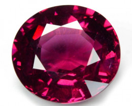 6.34 Cts Unheated Natural Cherry Pinkish Red Rhodolite Garnet Gemstone