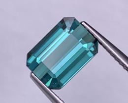 2.91 Cts Fine Grade Blue Indicolite Natural Tourmaline