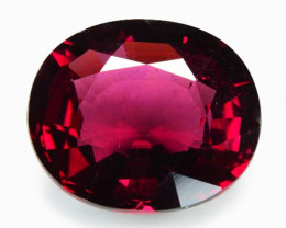 *NoReserve*Rhodolite Garnet 9.02 Cts Unheated Natural Cherry Pinkish Red Ge