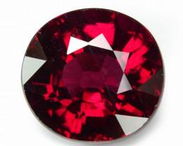 5.30 Cts Unheated Natural Cherry Pinkish Red Rhodolite Garnet Gemstone