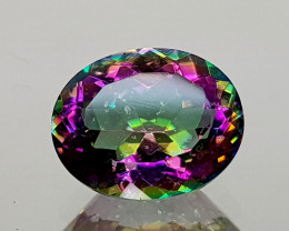 2.39Crt Mystic Quartz  Natural Gemstones JIST06