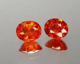 1.29Crt Spessartite Garnet Natural Gemstones JIST06