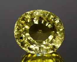 5.47Crt Lemon Quartz Concave Cut  Natural Gemstones JIST06
