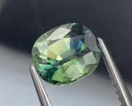 2.08 Cts Fine Quality Rare Bi Color Natural Sapphire Excellent Luster