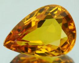 1.48 Cts Natural Corundum Yellow Sapphire Beryllium Heated Madagascar