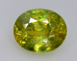 Rare AAA Fire 1.30 ct Sphene