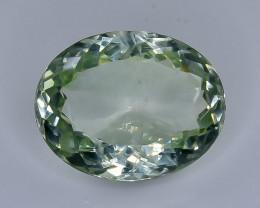 12.20 Crt Natural Green Prasiolite Amethyst Faceted Gemstone.( AB 24)