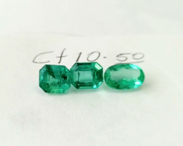 10.50ct Colombian Emerald Lot