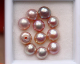 6.35Ct Natural Fresh Water Pearl Cultured Drill Lot V7946
