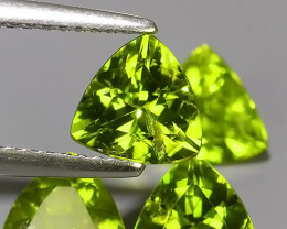 """4.80 CTS""""MESMERISING NATURAL TRILLION PERIDOT~EXCELLNT!!"""