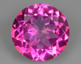 2.20 CTS  MAGNIFICENT NATURAL ROUND TOP COLOR PINK TOPAZ EXCELLENT!!