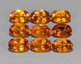3.80 CTS  EXCELLENT NATURAL  CITRINE OVAL DAZZLING PARCEL!!