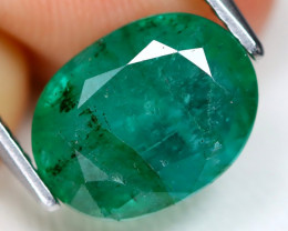 Zambian Emerald 2.79Ct Natural Green Color Zambian Emerald B1406