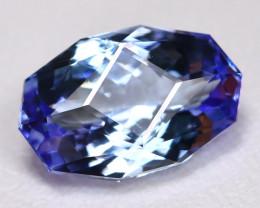 Tanzanite 1.75Ct VVS Master Cut Natural Purplish Blue Tanzanite BT0001