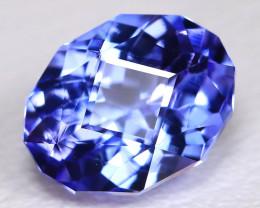 Tanzanite 1.57Ct VVS Master Cut Natural Purplish Blue Tanzanite BT0007