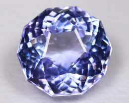 Tanzanite 1.44Ct VVS Master Cut Natural Purplish Blue Tanzanite BT0008