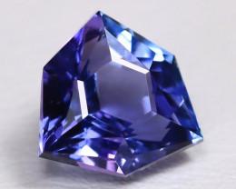 Tanzanite 1.34Ct VS Master Cut Natural Purplish Blue Tanzanite BT0009
