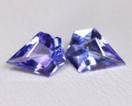 Tanzanite 1.18Ct VS Master Cut Natural Purplish Blue Tanzanite BT0015