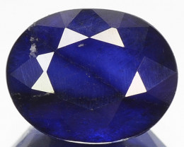 2.19 Cts Amazing Rare Fancy Royal Blue Sapphire Loose Gemstone