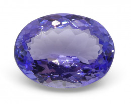 2.45ct Oval Tanzanite- $1 No Reserve Auction