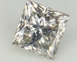 0.38 cts , Natural Square Diamond , Diamond For Jewelry