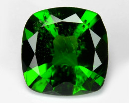 1.38 Cts Natural Green Color Chrome Diopside Loose Gemstone
