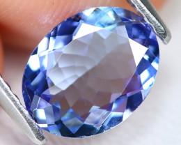 Tanzanite 1.30Ct VS Oval Cut Natural Purplish Blue Color Tanzanite C1506