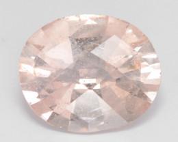 2.69 Cts Amazing Rare Natural Pink Color Morganite Gemstone