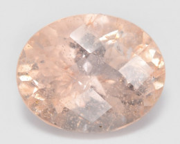 2.38 Cts Amazing Rare Natural Pink Color Morganite Gemstone