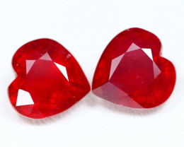 Red Ruby 10.04Ct Oval Cut Pigeon Blood Red Ruby C1511