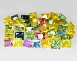 Mix Sapphire 13.63 Cts 44 Pcs Rare Natural Fancy Loose Gemstones