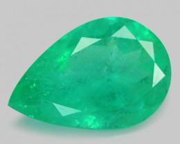 Colombian Emerald 4.39 Cts Natural Vivid Green Gemstone