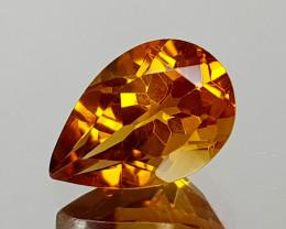 1.35Crt Madeira Citine Natural Gemstones JI07