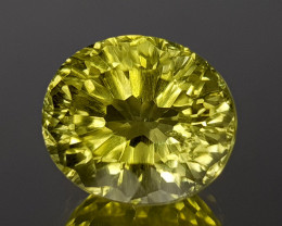 4.58Crt Lemon Quartz Concave Cut Natural Gemstones JI07