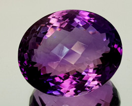 30Crt Amethyst Natural Gemstones JI07