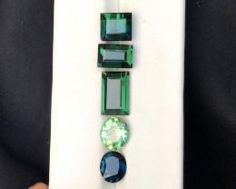 12 Carats Mix lot Natural Tourmaline Gemstones