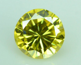 Top Quality 0.45 ct Yellow Diamond