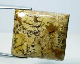 32.39 ct Natural Thunder Agate Rectangular Cabochon  Gemstone