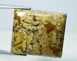 32.39 ct Natural Thunder Agate Rectangular Cabochon  Gemstone