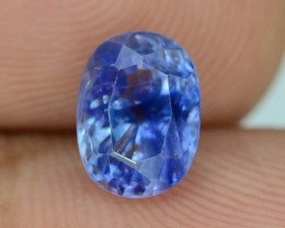 Cornflower Color 2.35 ct Sapphire ~ Sri Lanka
