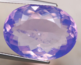 15.57Ct Natural Lavender Amethyst Oval Cut Lot A1128
