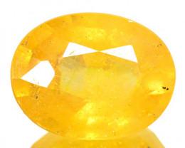3.20 Cts Rare Fancy Yellow Sapphire Gemstone