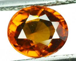 2.46 Cts Natural Cinnamon Orange Hessonite Garnet Oval Sri Lanka
