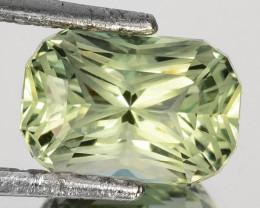~CUSTOM CUT~ 2.55 Cts Natural Green Prasiolite/Amethyst Cushion Fancy Brazi
